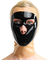 Latex Two Colour Hood - also Available with Zip
