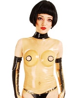 Nipple Free Latex Top