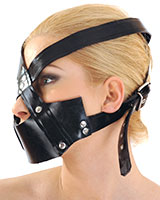 Rubber Face Harness mith Mouth Mask