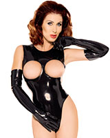 Datex Body with Open Bust and Back Zipper
