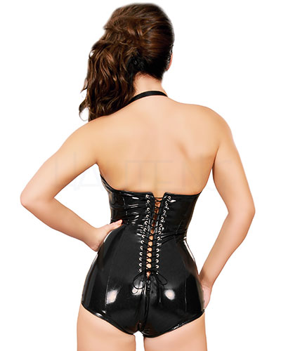 Datex Body with Corset Back and 2 Way Zip Through Crotch