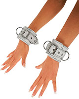 Leather Cuffs with Rivets