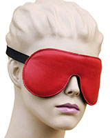 Reversible Padded Leather Blindfold