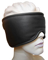 Padded Leather Deprivation Mask