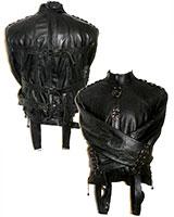 Profi-Zwangsjacke aus Leder