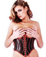 Lace-Up Heavy Leather Corset