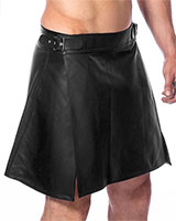 Leather Men's Skirt