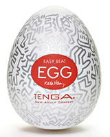 Tenga KEITH HARING EGG PARTY - Masturbator - 6 pcs.