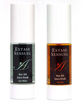 Extase Sensuel HOT OIL STIMULANT Hot-Cool Massage Oil