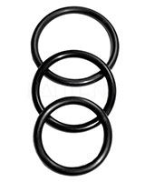 Nitrile Cock Rings - 3 Pcs.