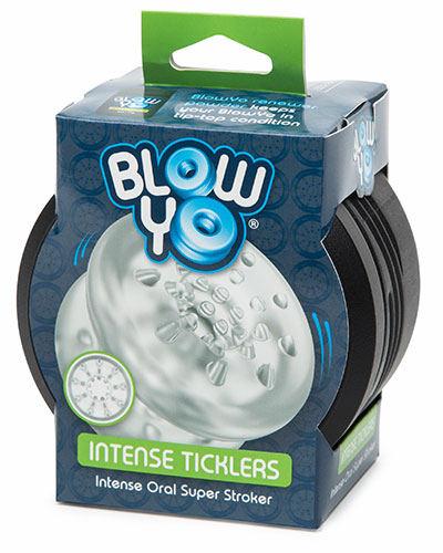 BlowYo INTENSE TICKLERS Oral Super Stroker Oralsex-Masturbator