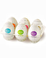 Tenga Set of 6 Different Eggs - Masturbators - 6 pcs.