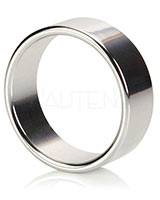 ALLOY Aluminium Cock Ring - 3 Sizes