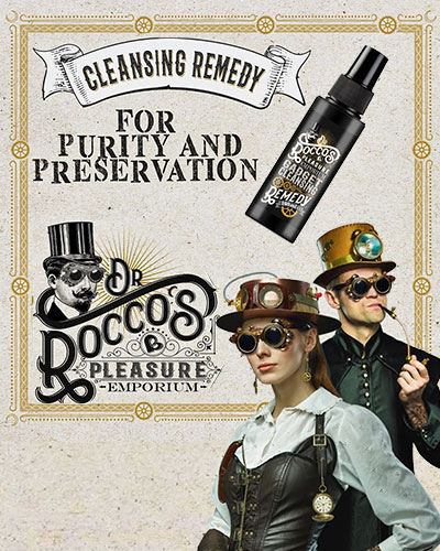Dr. Rocco\'s GADGET CLEANSING REMEDY Toy Cleaner - 100 ml