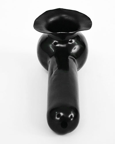 Latex Sheath with Tip Hole and Base Plate