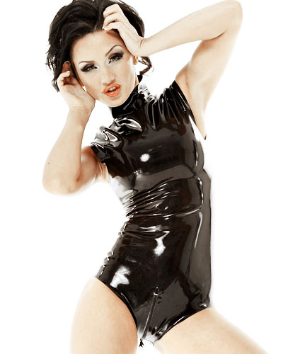Latex Body with Crotch Zipper