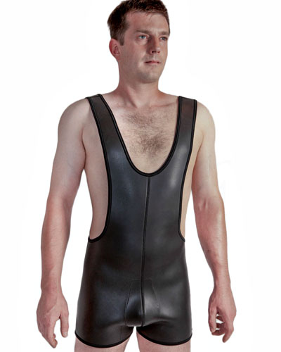 Neoprene Wrestling Body with Pouch