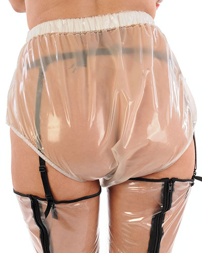 PVC Pants Unisex - Available with Sheath