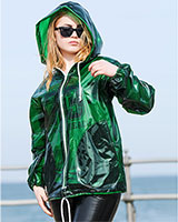JELLY COAT PVC or PU Rain Jacket