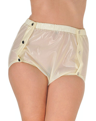 PVC Shapely Popper Pants - Unisex