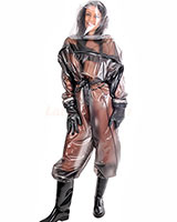 "PVC ""Hybrid"" Inflateble Nuke Suit - up to 4XL"