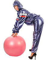 PVC Sauna Suit Unisex - also Available with Hood