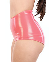 PVC 1950's Style Retro Panty with Zipper - up to 4XL