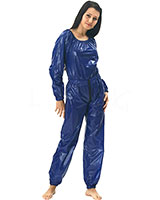 PVC Overall with 2 Way Zipper Through Crotch