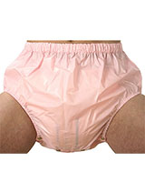 PVC Adult Baby Nappy Pants with Buttons