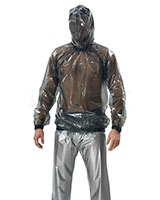 PVC Long Sleeved SHirt with Hood