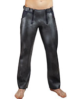 Neoprene Trouser with 2 Front Zips and 1 Back Zip