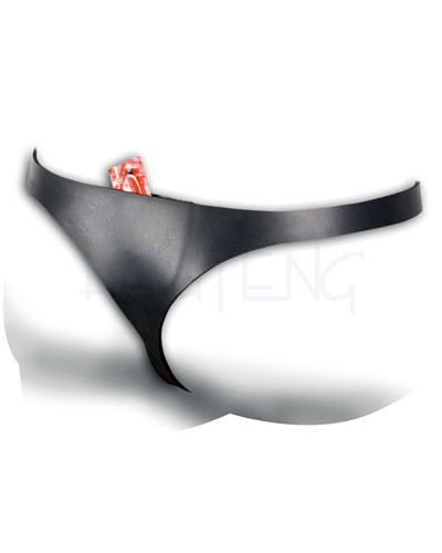 Neoprene Briefs with Condom Pocket