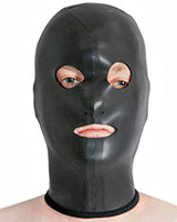 Neoprene Hood with Mouth and Eyes Openings
