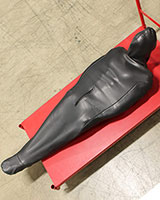 Neoprene Bondage Body Bag with Hood