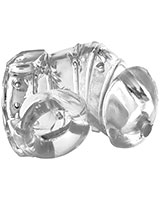 DETAINED 2.0 Restrictive Chastity Cage with Internal Nubs