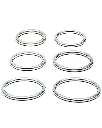 Cockringset aus Metall - jeweils 2 Cockringe