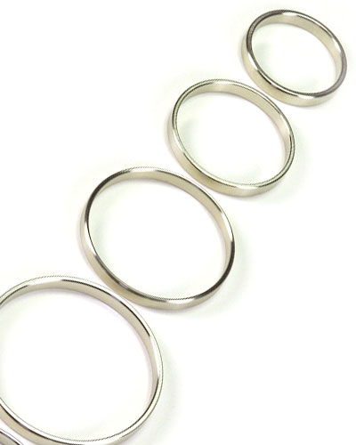 Stainless Steel Cockring - 5 mm Wide