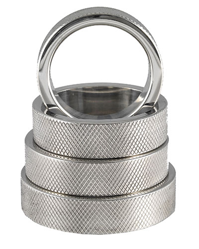 Stainless Steel Cockring - 1.5 cm Wide
