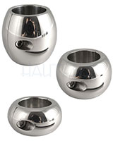 Donut Shape Stainless Steel Ballstretcher - 3 Sizes